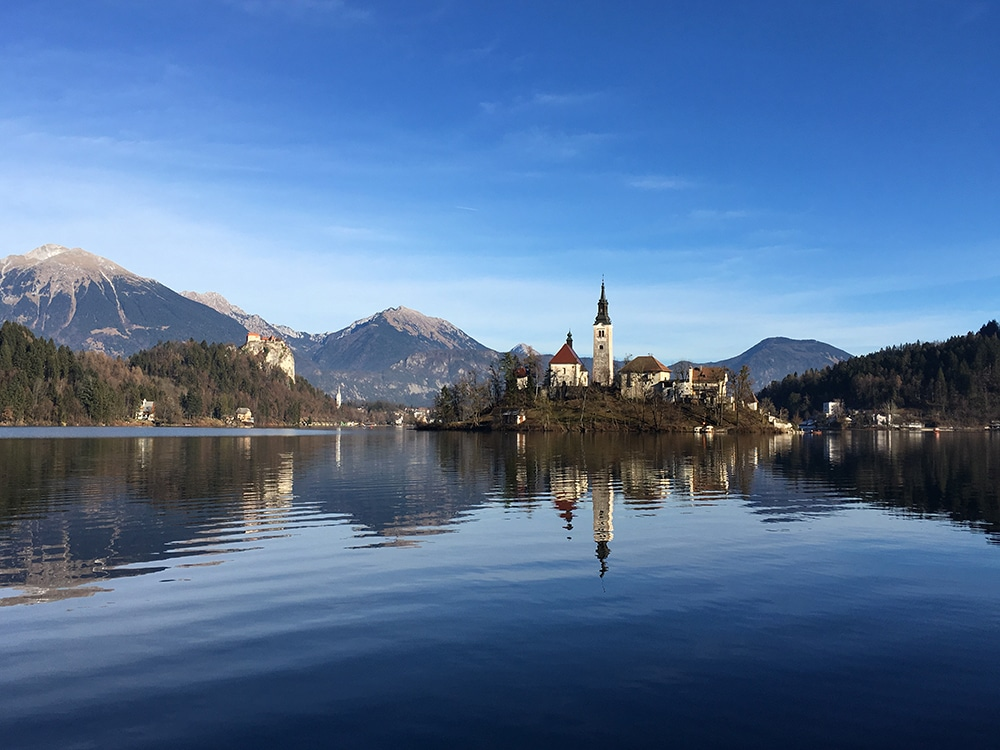Slovénie Lac Bled