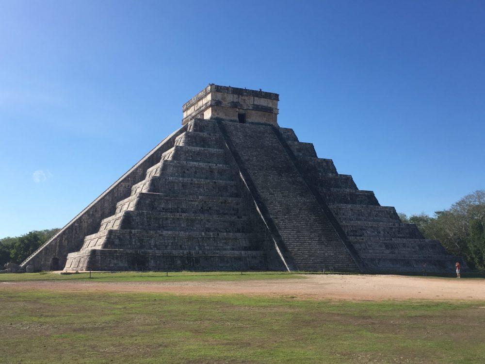 Mexique Yucatan Pyramide Maya Chichen Itza