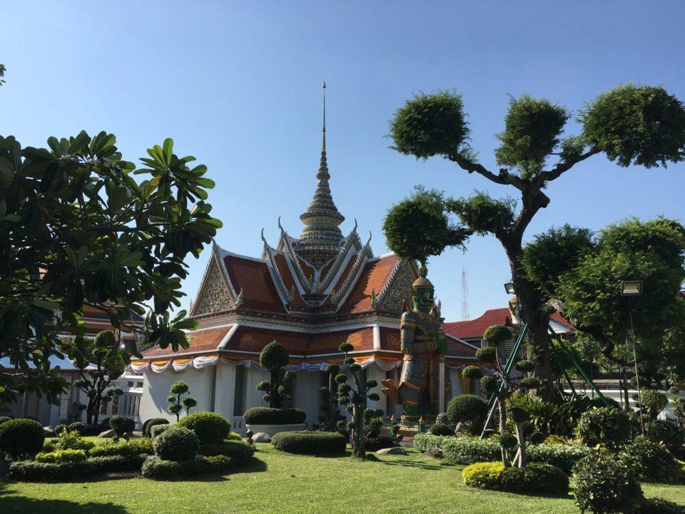 Thailande Bangkok temple bouddhiste