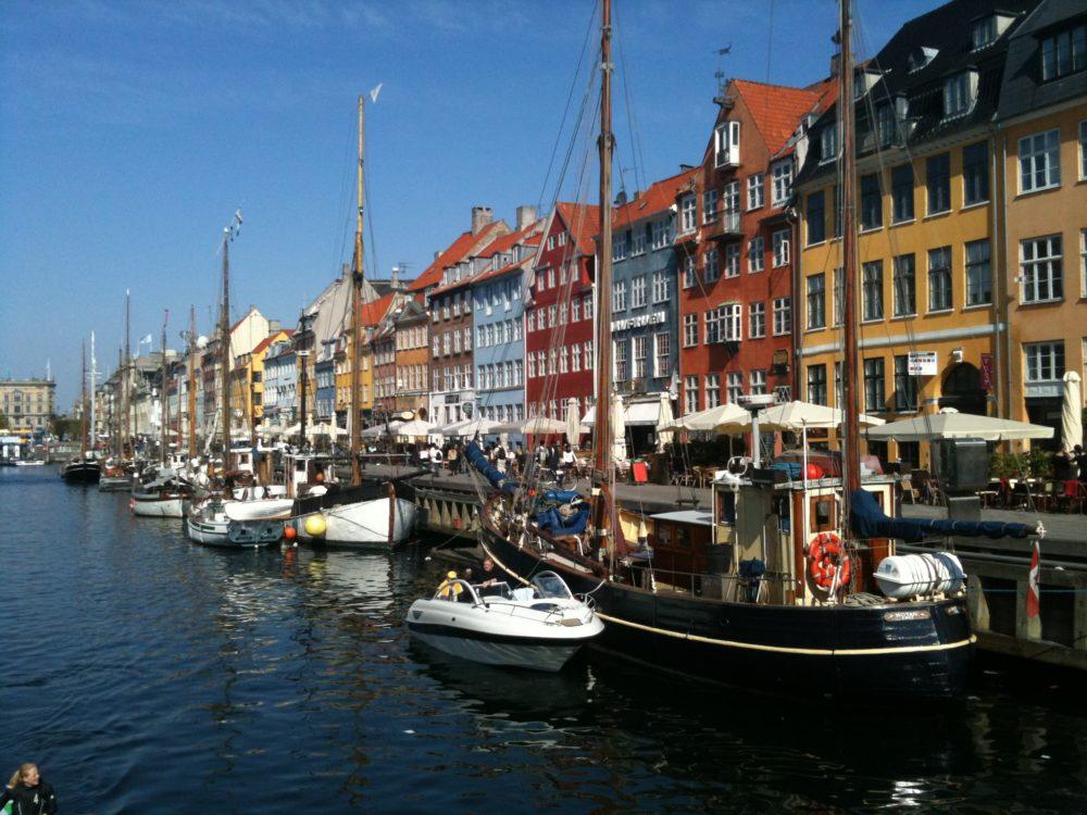 Copenhague Danemark Port Nyhavn