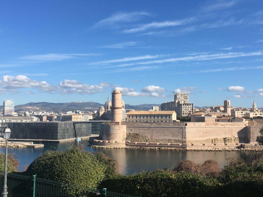 Marseille Vieux-Port Palais