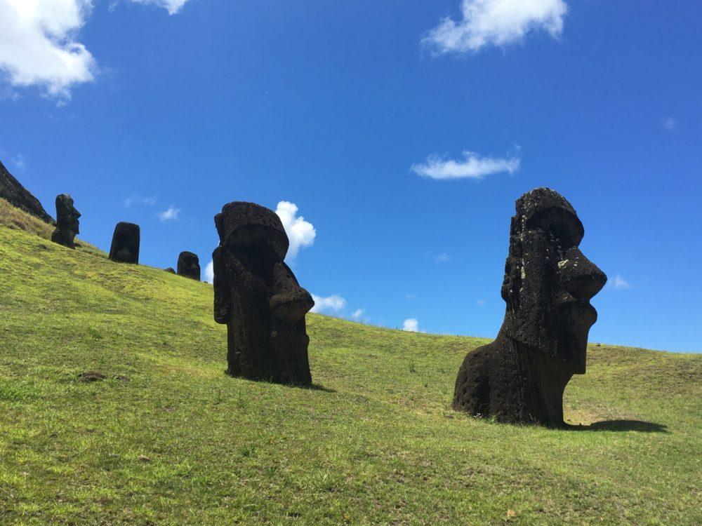 Ile Paques Statues Moai