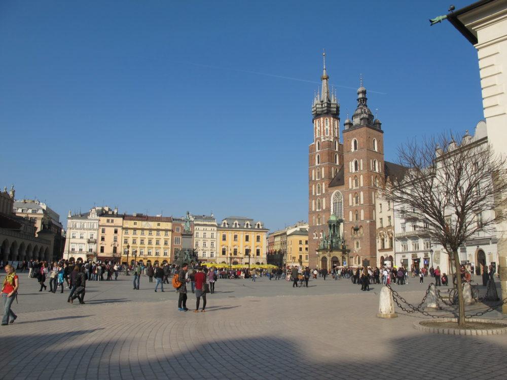 Pologne Cracovie Place