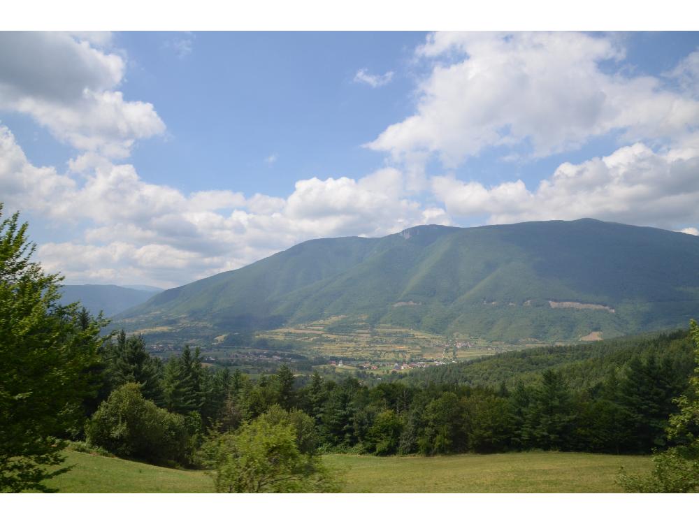Bosnie Jajce Montagnes