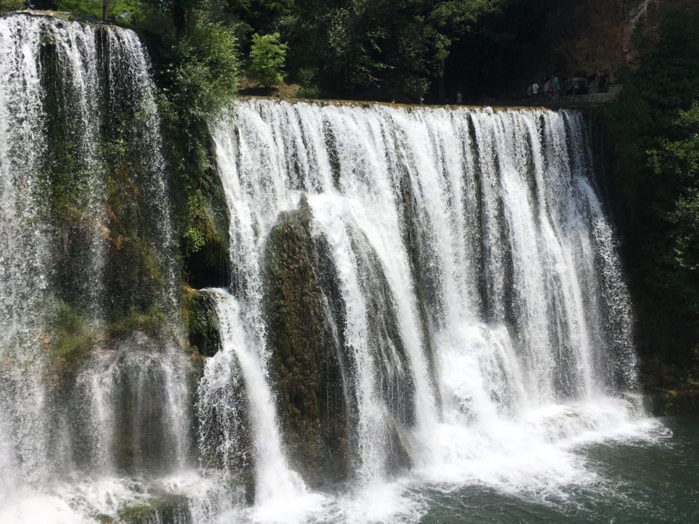 Bosnie cascades Jajce