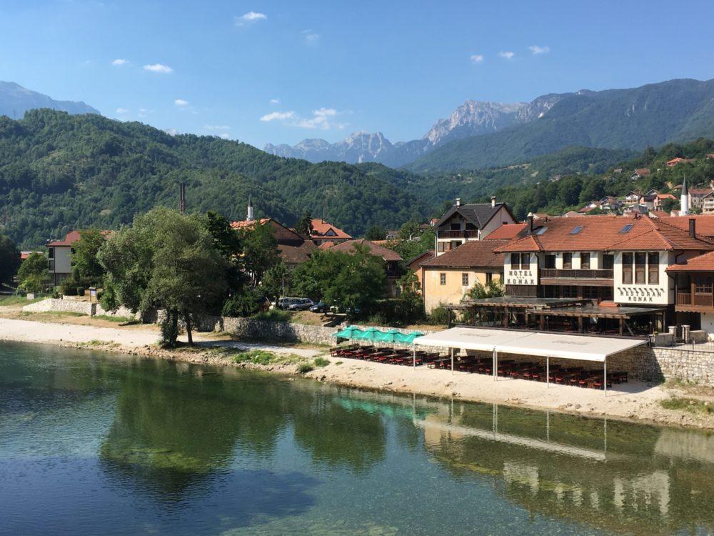 Bosnie Campagne paysage