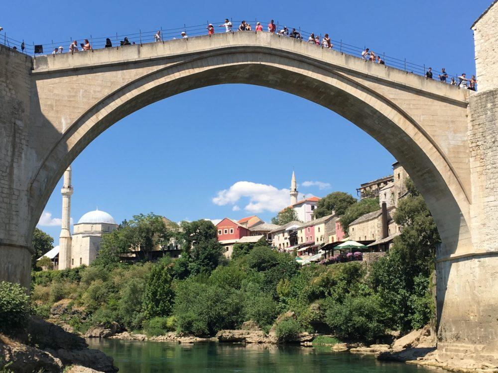Bosnie pont Mostar