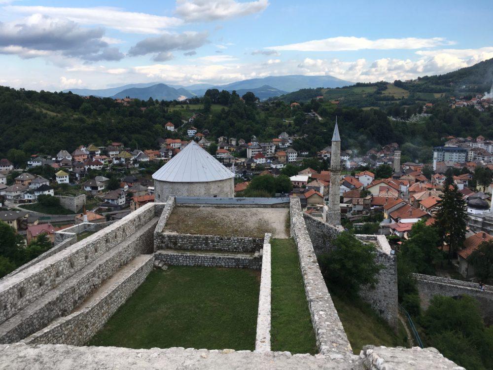 Bosnie chateau Travnik