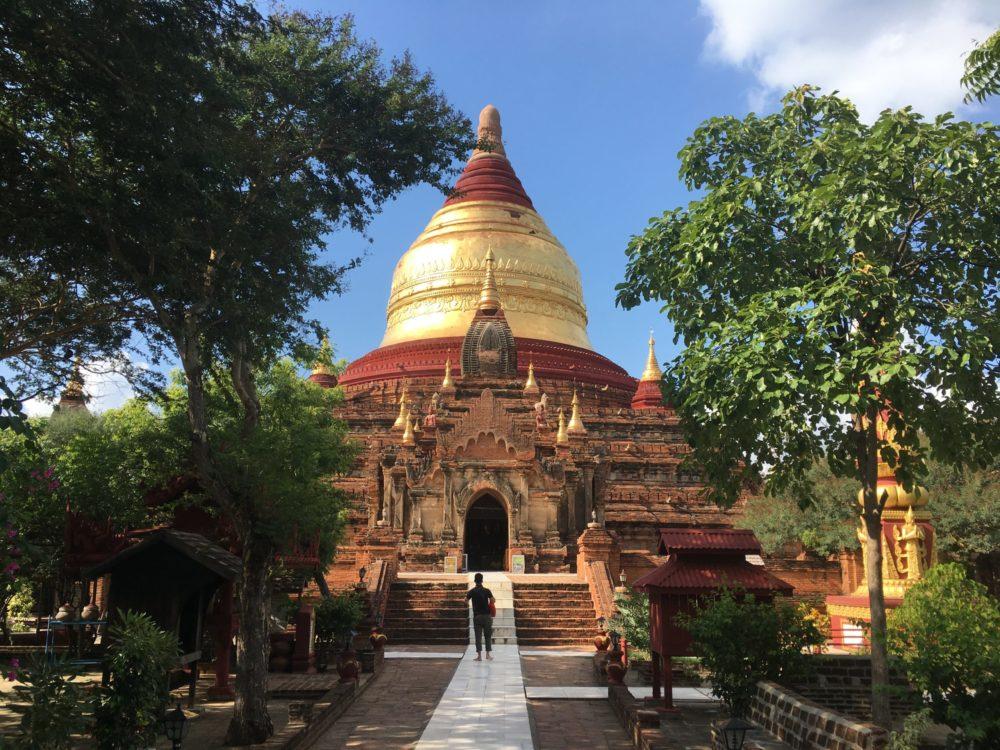 Birmanie-Pagode-Bagan